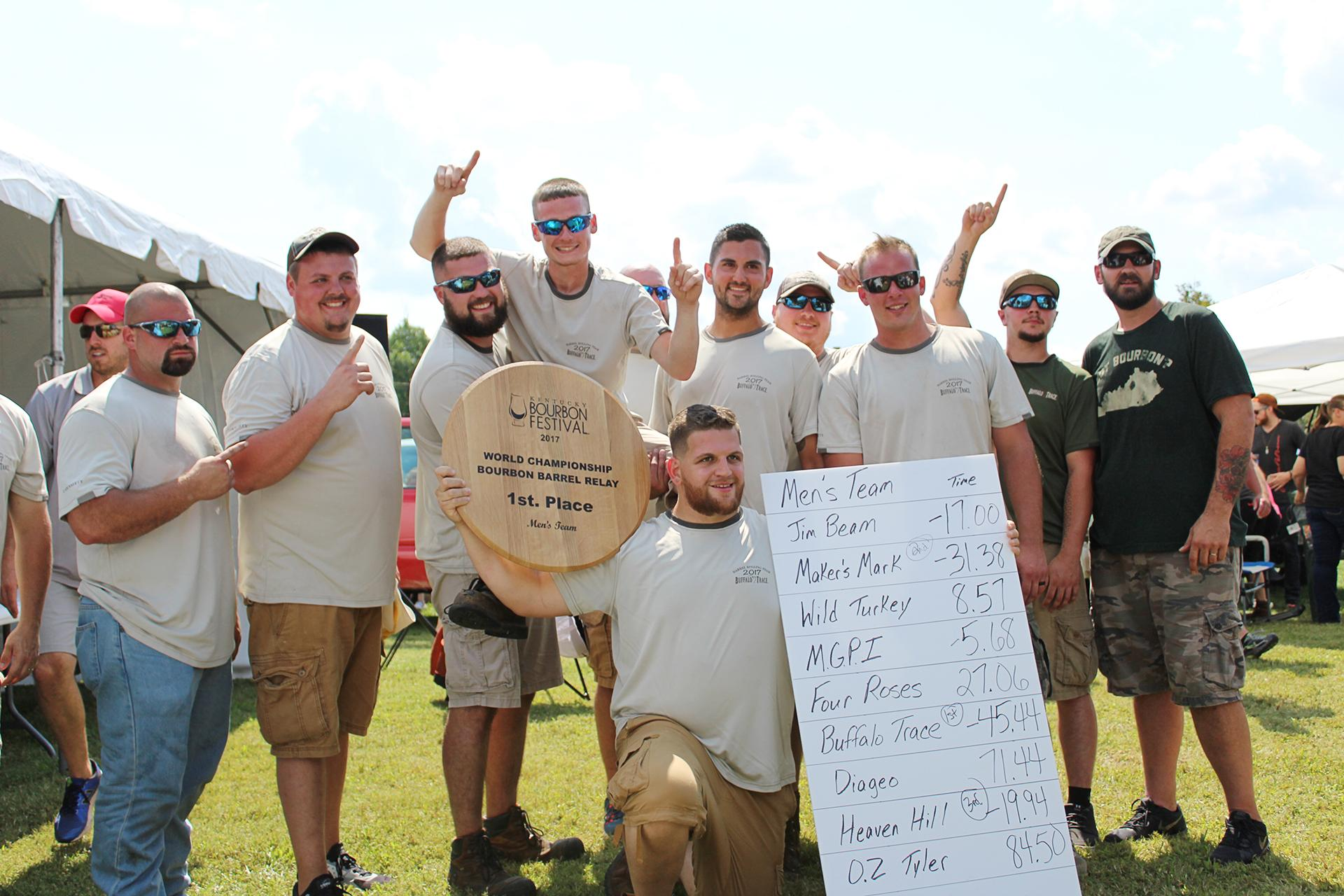 Buffalo Trace Men's Barrel Relay Team