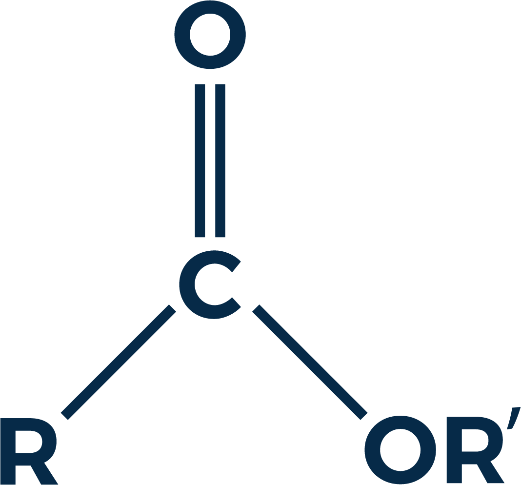 Figure 1. Ester (R/R' denotes alkyl or aryl group. R also possibly hydrogen)